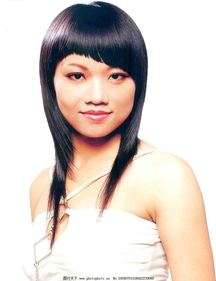 美发 发型 最新发型 烫发 染发 沙宣发 人物图库 女性女人 摄影图库