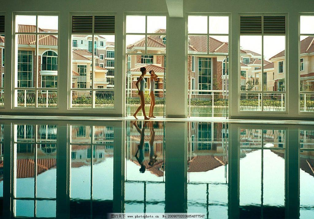 欧式室内游泳池图片