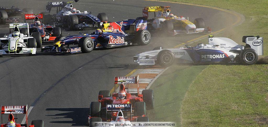 f1赛车 运动 体育 汽车 现代科技 交通工具 摄影图库