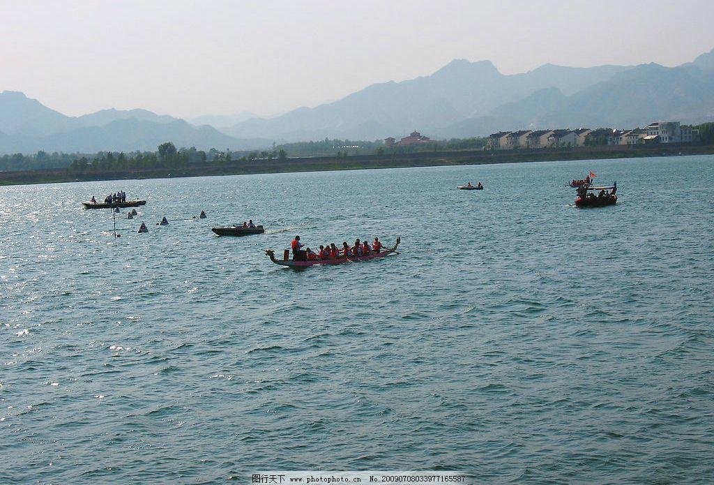 青龙湖赛龙舟 风景 赛龙舟比赛 旅游 国内旅游 旅游摄影 摄影图库