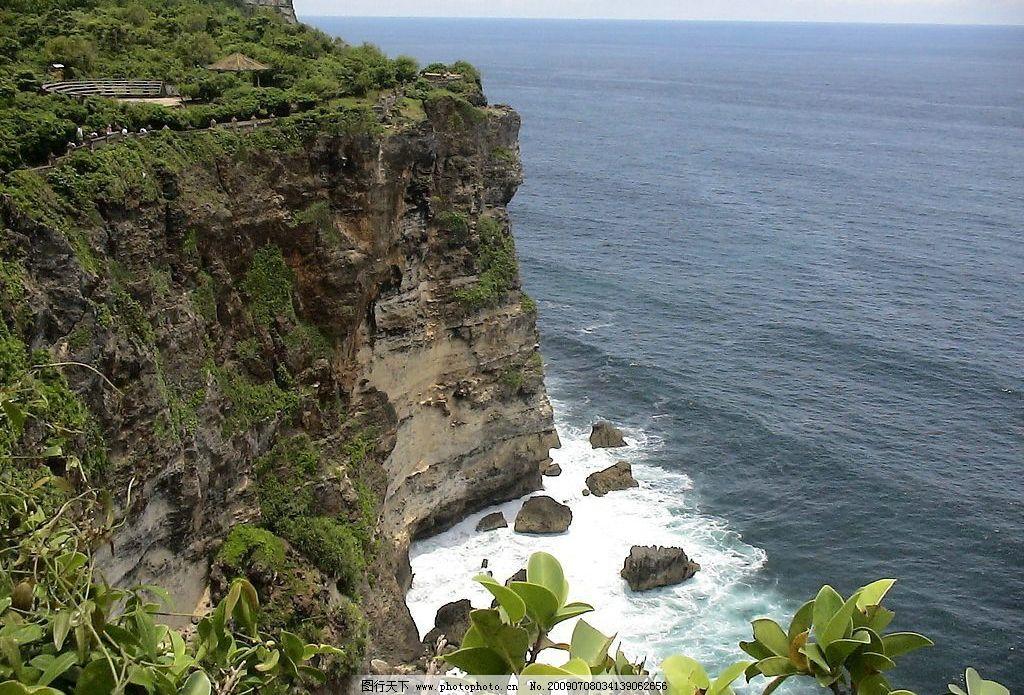 悬崖 旅游摄影 自然风景 摄影图库 96dpi jpg