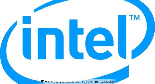 英特尔logo      英特尔 电脑 其他矢量 矢量素材 矢量图库 cdr 标识
