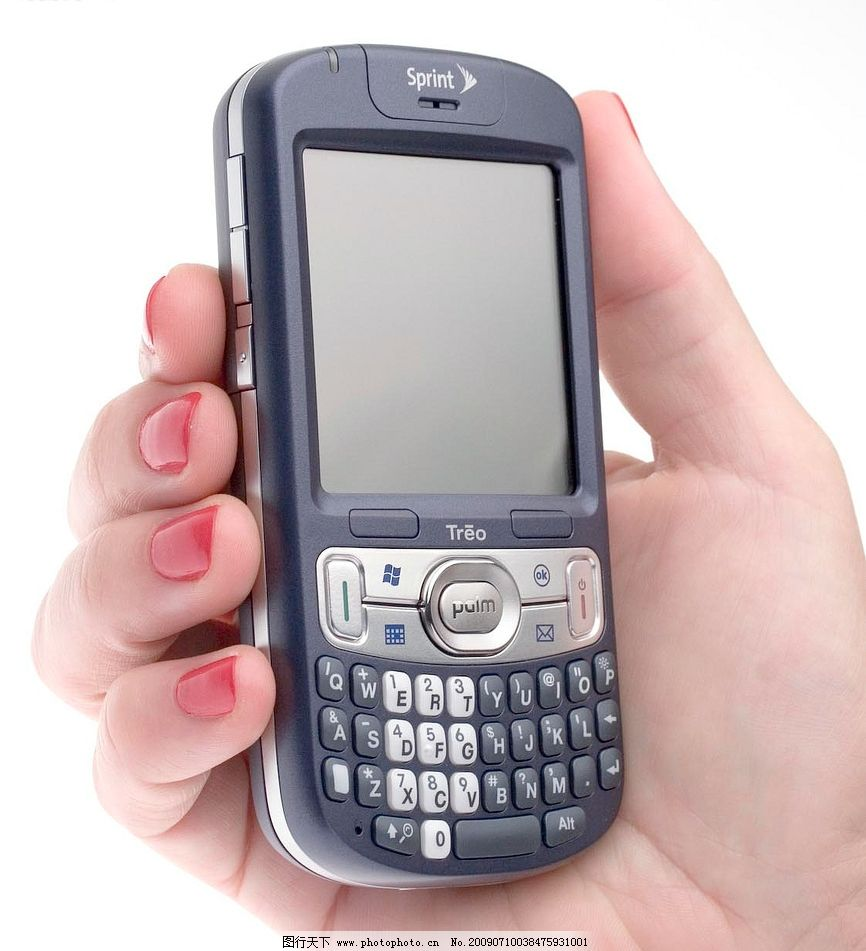 treo手机 手机设计 按键设计 现代科技 其他 摄影图库 72dpi jpg