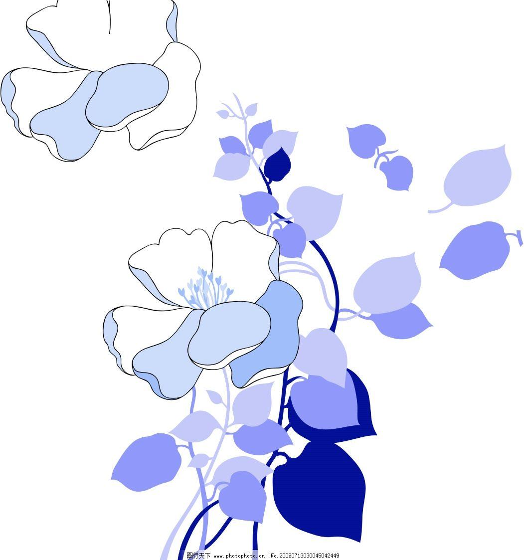 花卉图 花卉1 花纹 底纹 背景素材 韩国水彩 广告设计模板 海报设计