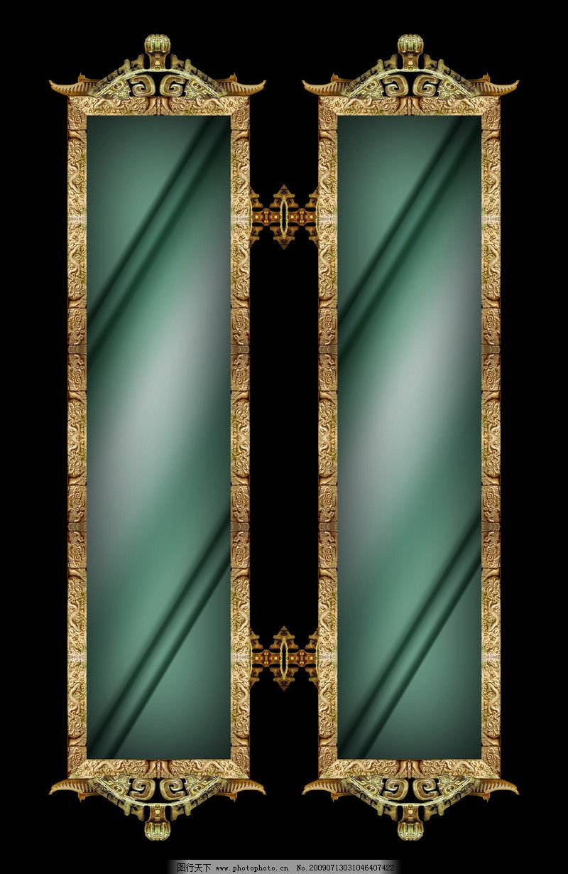 设计组件素材 古典边框