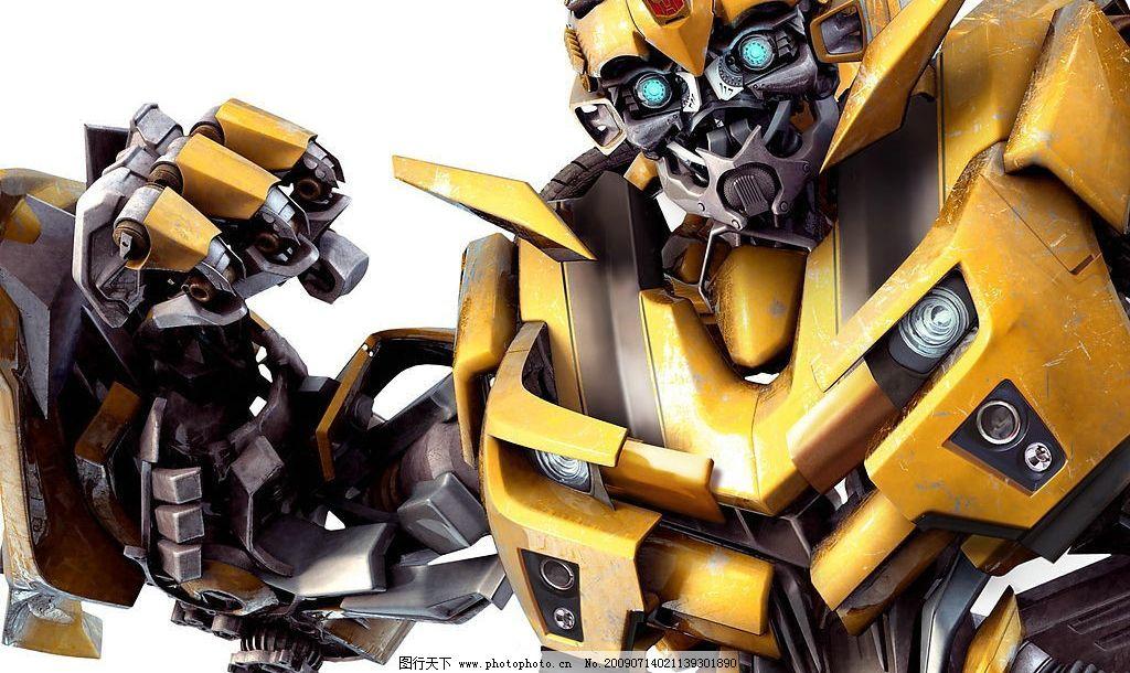 变形金刚之大黄蜂 变形金刚 大黄蜂 3d 3d设计 3d作品 设计图库 300