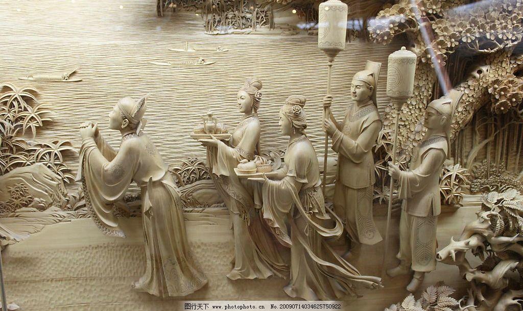 雷峰塔浮雕05 杭州 西湖 雷峰塔 浮雕 自然景观 风景名胜 摄影图库 72