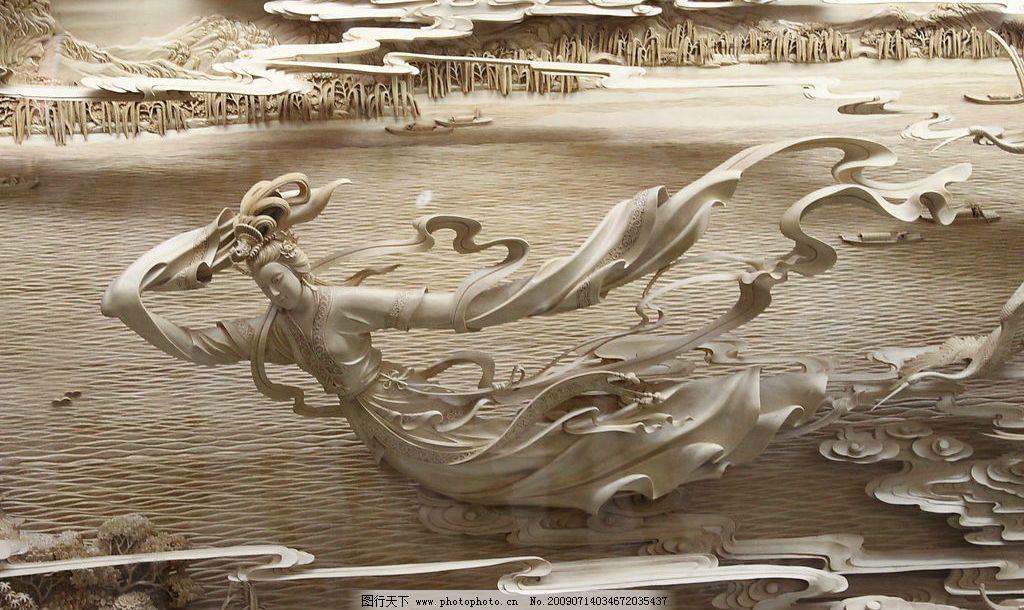 雷峰塔浮雕01 杭州 西湖 雷峰塔 浮雕 白娘子 自然景观 风景名胜 摄影