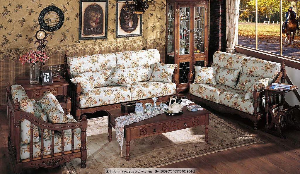生活百科 家居生活  欧式家具 欧式家居 沙发 家具 灯 壁画 窗帘 花