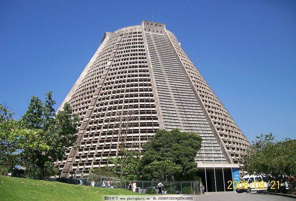 巴西教堂 建筑 旅游摄影 国外旅游 摄影图库
