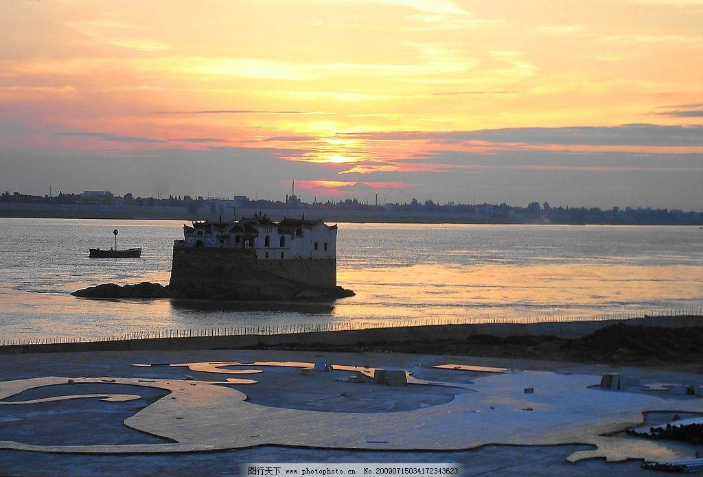 日出 太陽 江面 早晨的陽光 江邊風景 金色的陽光 旅游攝影 自然風景
