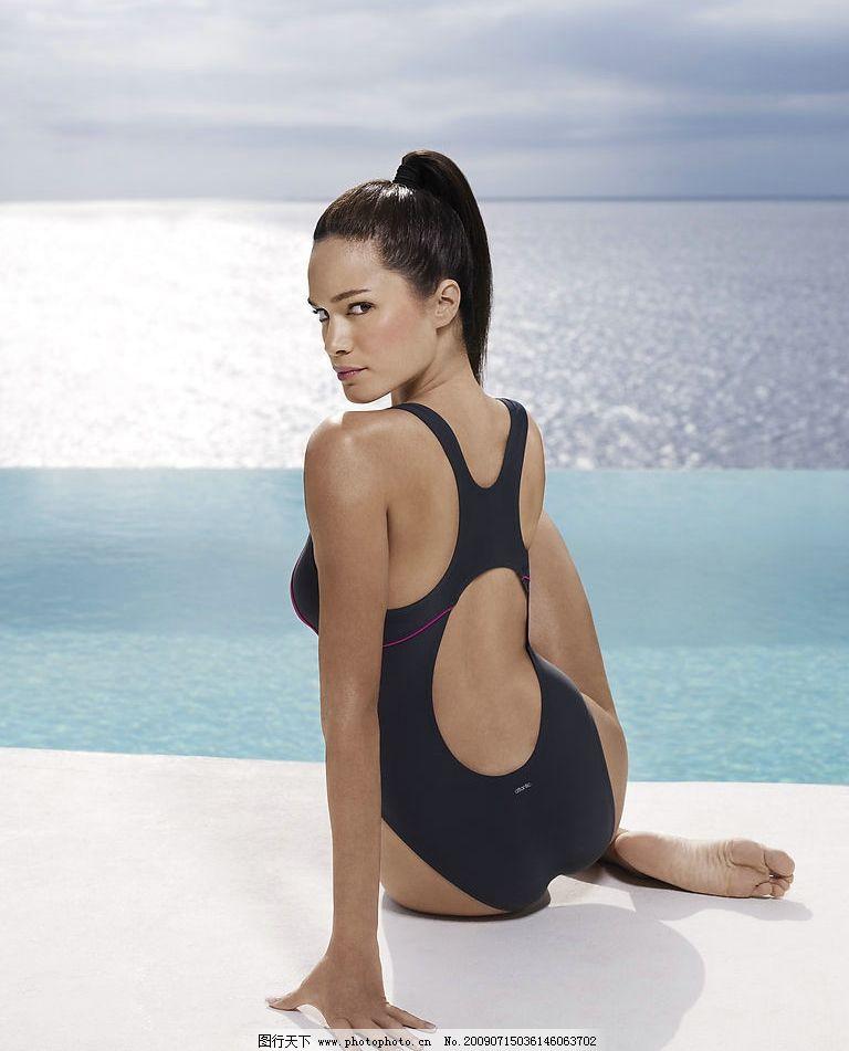 泳衣 模特 写真7图片