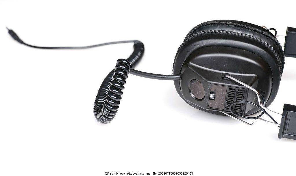 音响视听耳机 麦克风 喇叭 生活素材 摄影图库