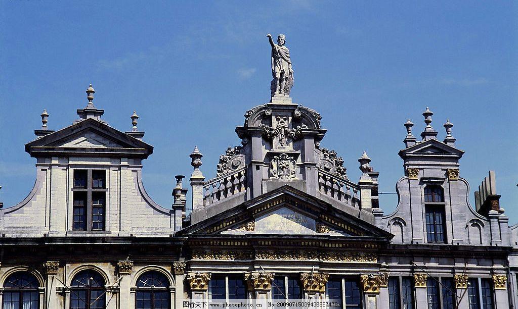 建筑 欧式 雕塑 屋顶 建筑园林 建筑摄影 摄影图库 300dpi jpg