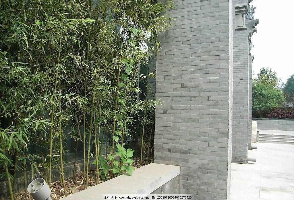 建筑 竹子 环境设计 景观设计 设计图库 72dpi jpg