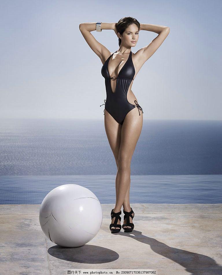 泳衣 模特 写真 15图片
