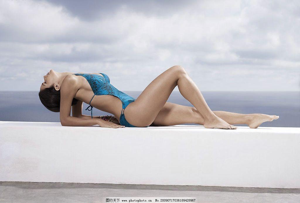 泳衣 模特 写真 14图片