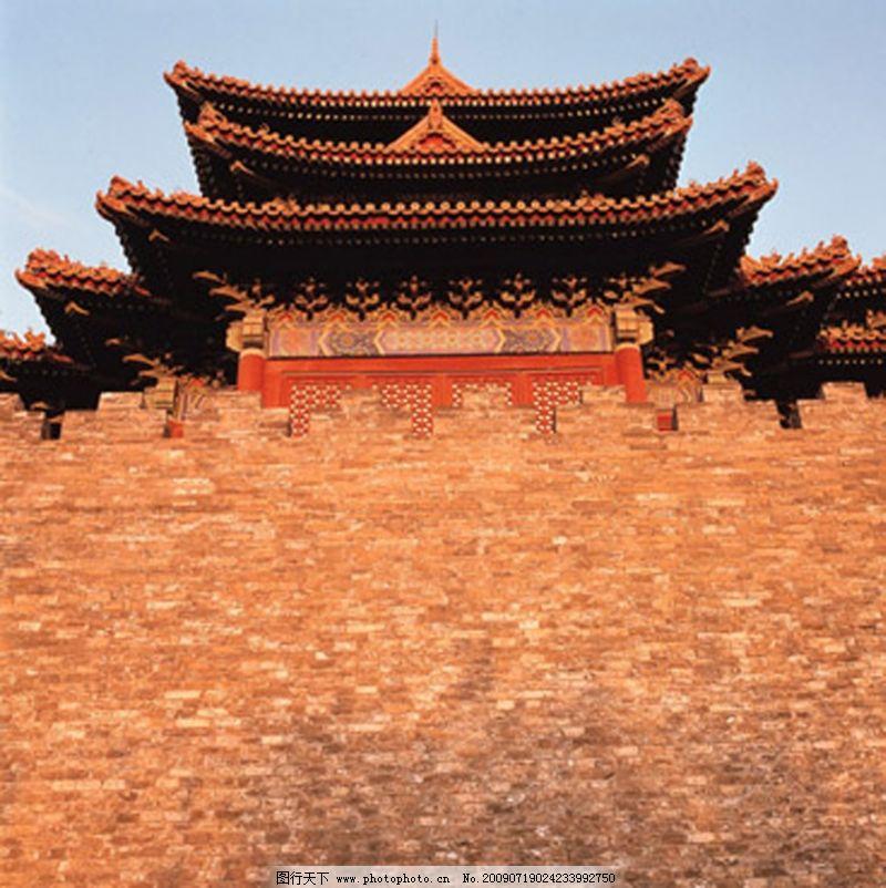 古代城楼矢量图俯视图