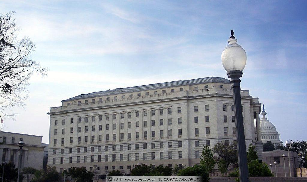 华盛顿美国议会大楼 华盛顿 美国议会大楼 自然景观 风景名胜 摄影