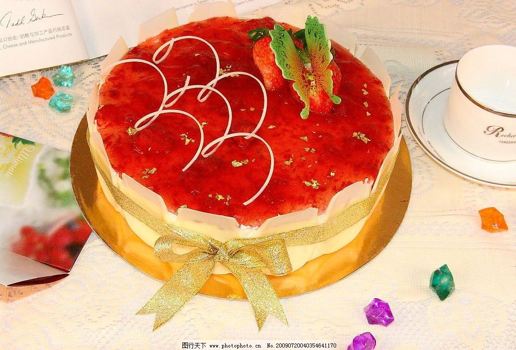 情人节蛋糕图片