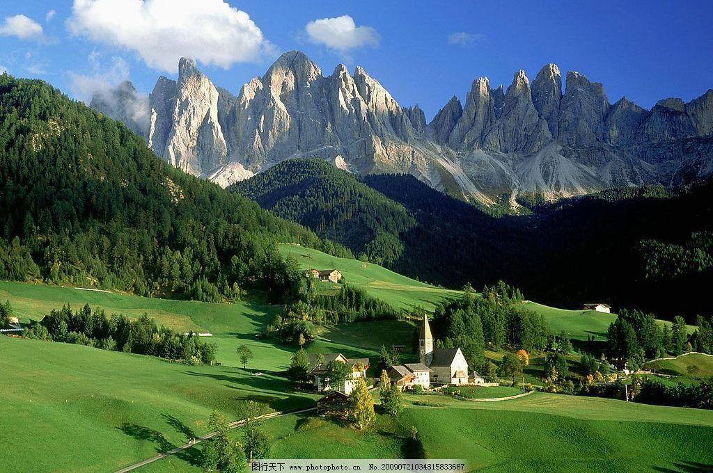 优美自然风景图片