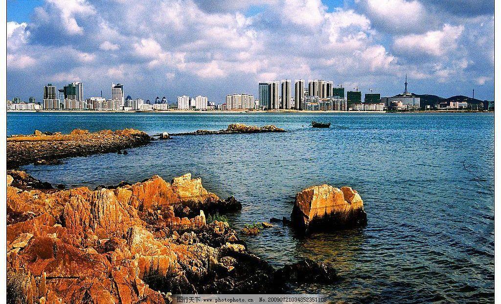 青岛开发区唐岛湾图片