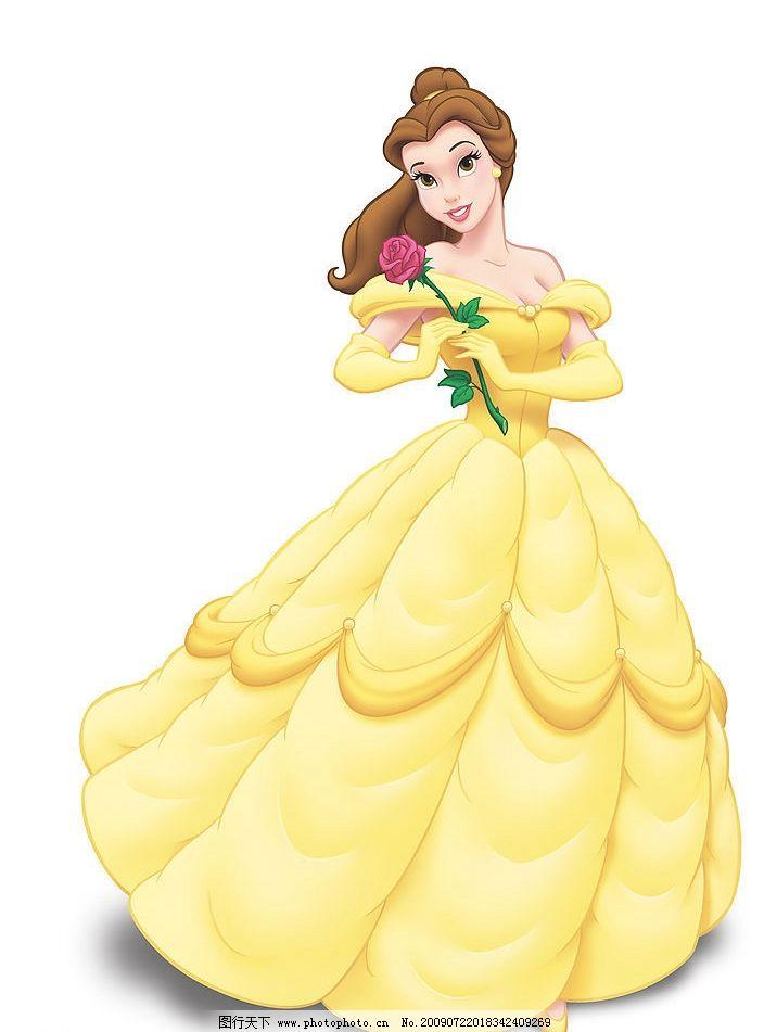 公主 美丽 卡通 可爱 动漫动画 动漫人物 设计图库 jpg