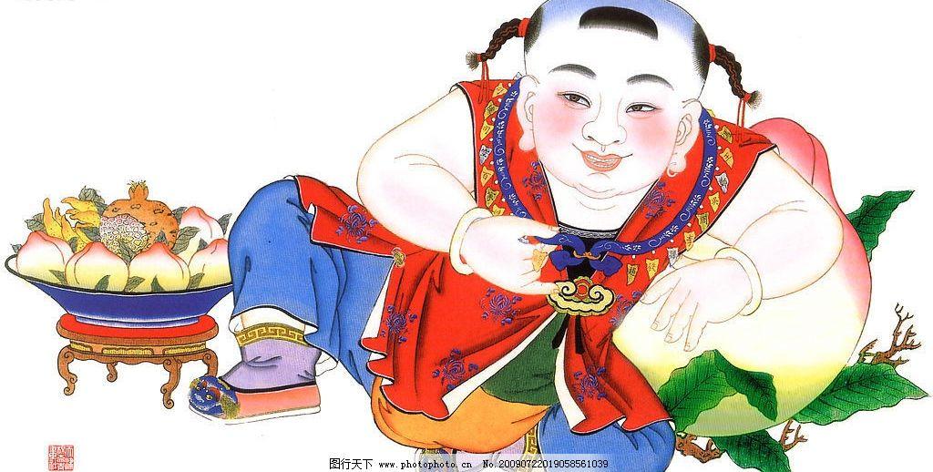 杨柳青年画图片_绘画书法_文化艺术_图行天下图库