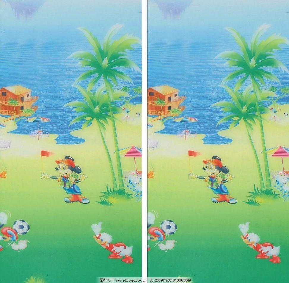 大海 动物 移门 移门图片 艺术玻璃 防爆玻璃 玻璃图片 动漫动画 风景