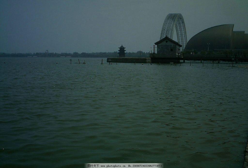 湖心桥 宝塔