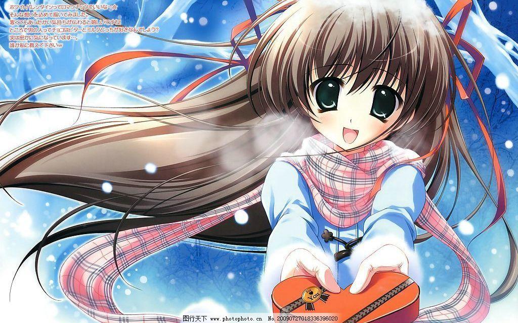 动漫大图赏 超大图 可爱女生 萌图 日本动漫 新番动画大图赏 动画人物