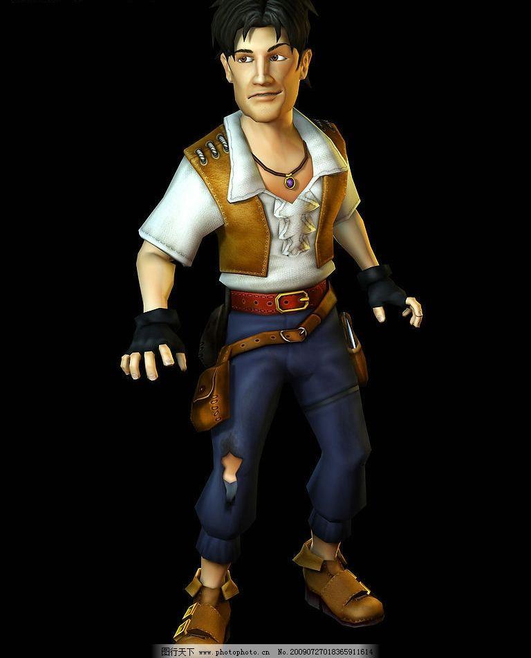 3d人物造型 3d 人物 造型 动画 武士 游戏 男造型 动漫动画 动漫人物