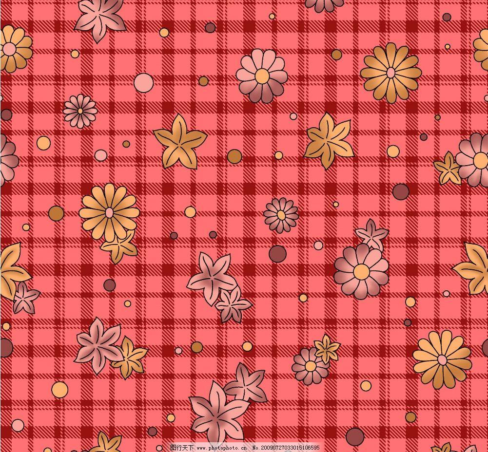 床单花纹图片