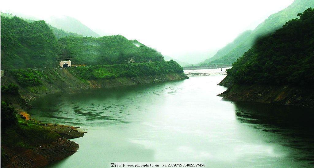 神农架风光之山水相连图片_自然风景_自然景观_图行