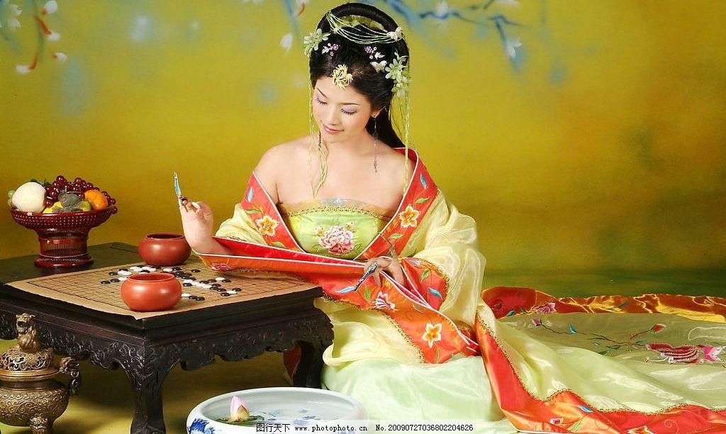古装美女 人物图库 女性女人 摄影图库 72dpi jpg