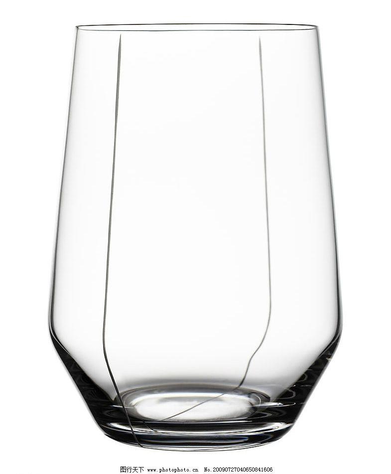水晶造型 雕花图案 手工切割 酒杯 器皿 玻璃杯 工艺美术 彩色 杯子