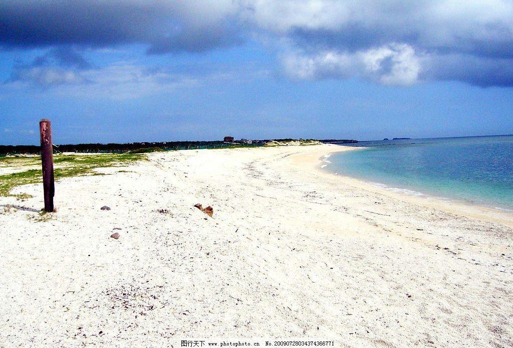 龙门沙滩 旅游 景观 景象 天空 云彩 山麓 海洋 海岸 沙滩 水色 旅游