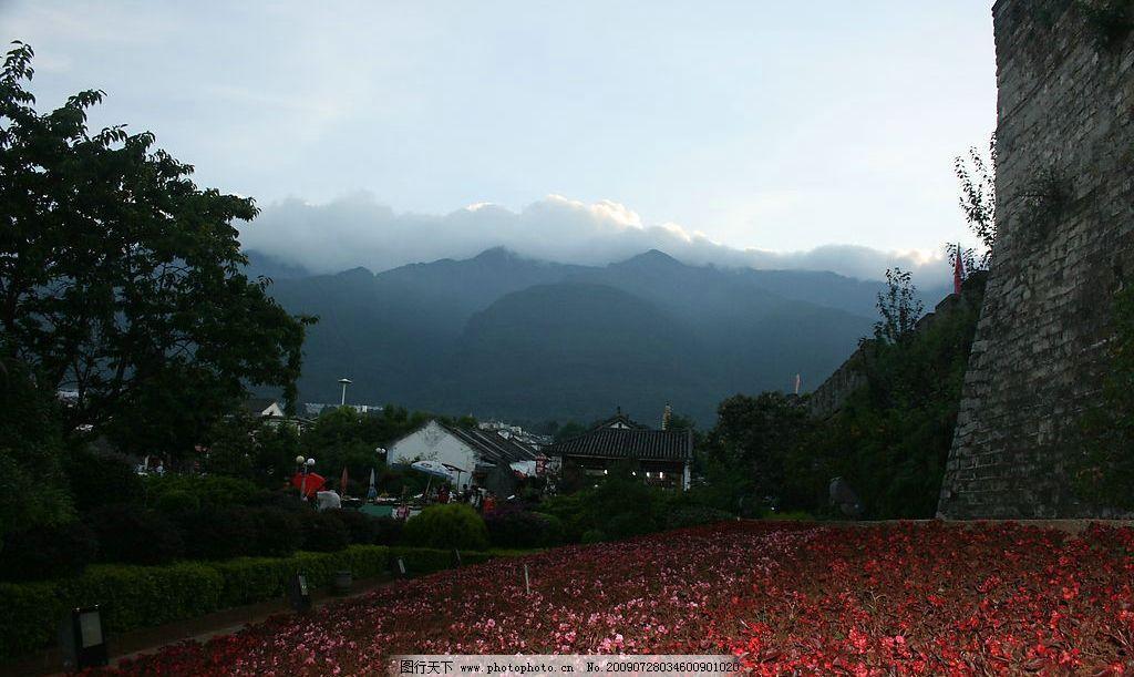 大理 云南 古城 自然景观 风景名胜 摄影图库 72dpi jpg