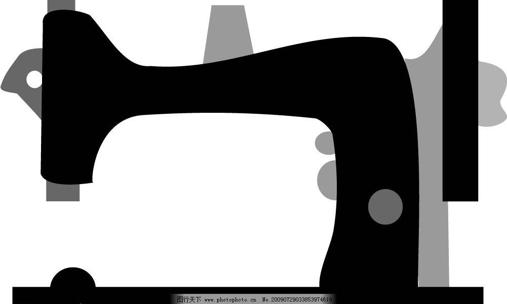 缝纫机 矢量 其他矢量 矢量素材 矢量图库 cdr