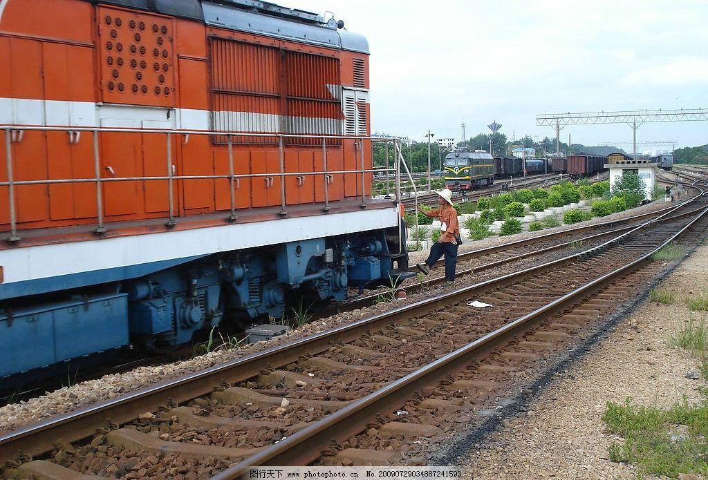 铁路 轨道 路轨 道路 火车 交通 运行 自然景观 自然风景 摄影图库 72