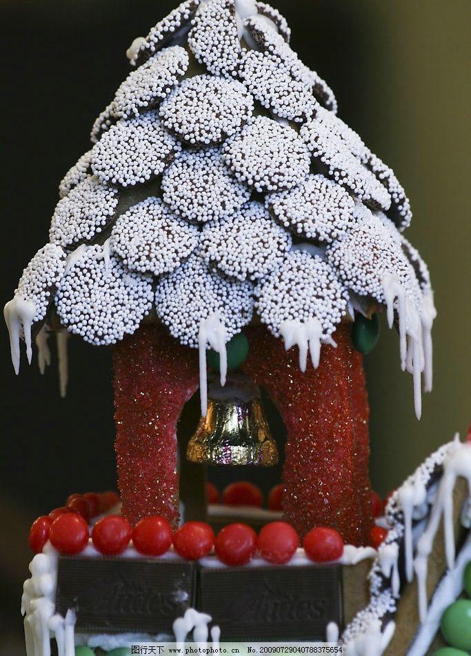 巧克力 房子 屋 糖果图片