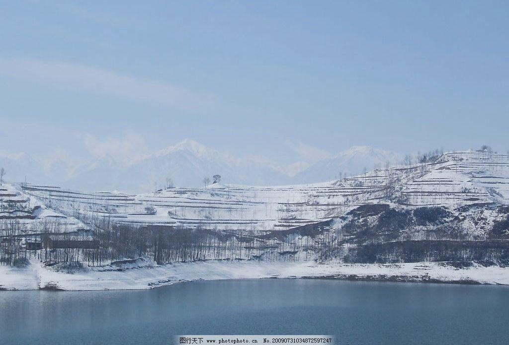 雪天风景图片