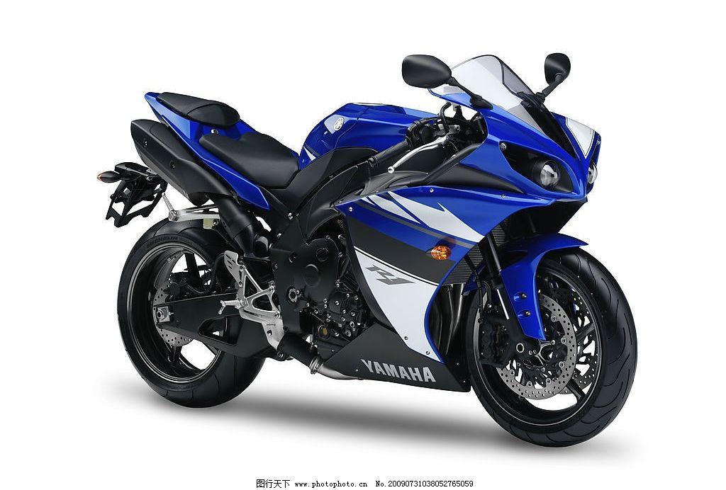 雅马哈yzfr1摩托车图片