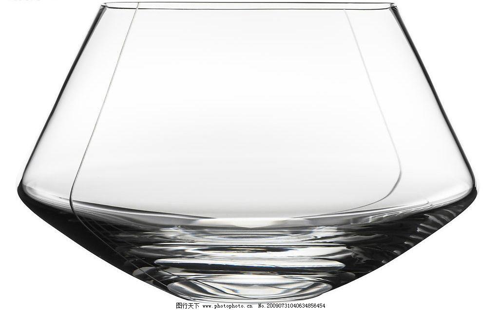 水晶杯 水晶造型 雕花 图案 手工切割 酒杯 器皿 玻璃杯 工艺