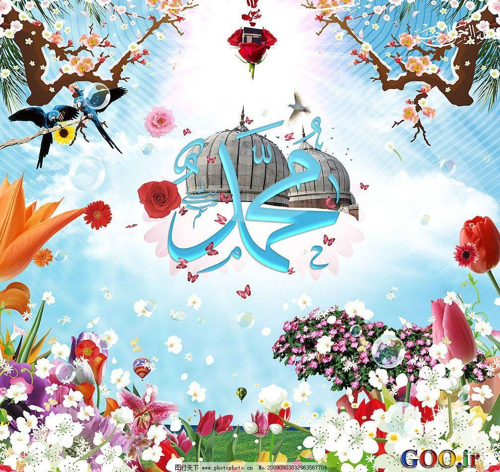 鲜花 蝴蝶 梅花 背景 素材 春天 郁金香 鹦鹉 玫瑰 圆顶 热气球