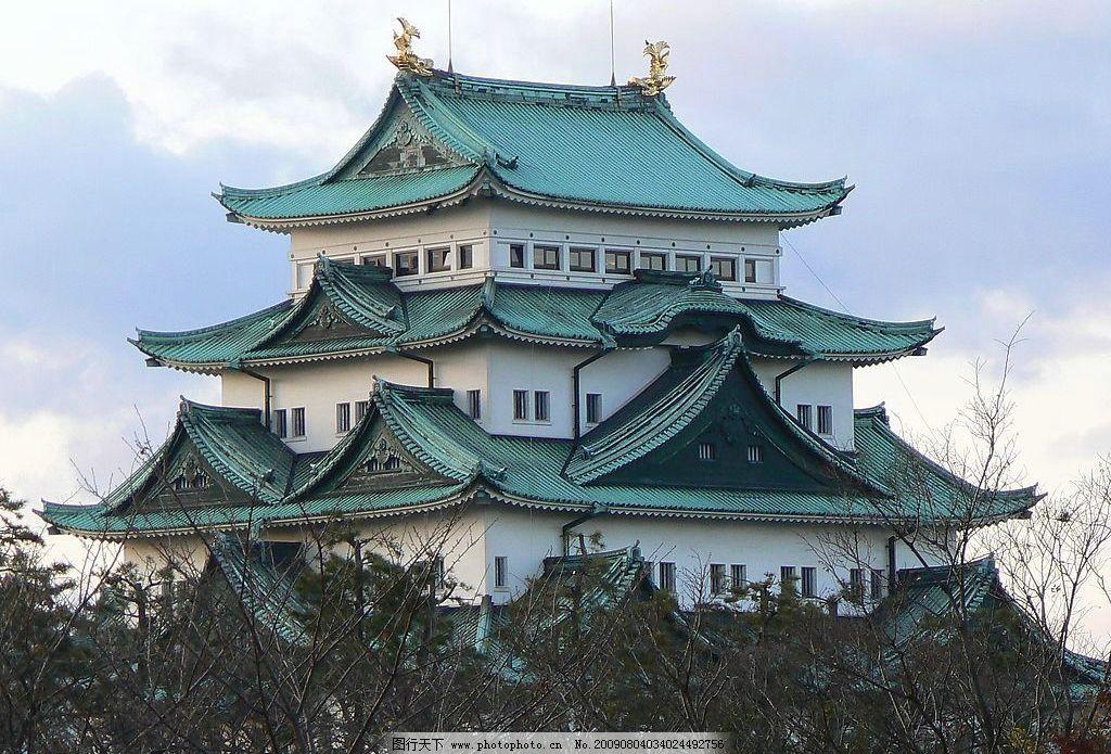 名古屋城 日本古城 风景名胜 国外旅游 摄影图库
