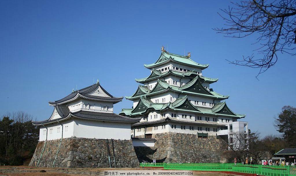 名古屋城 日本古城 风景名胜 旅游摄影 国外旅游 摄影图库