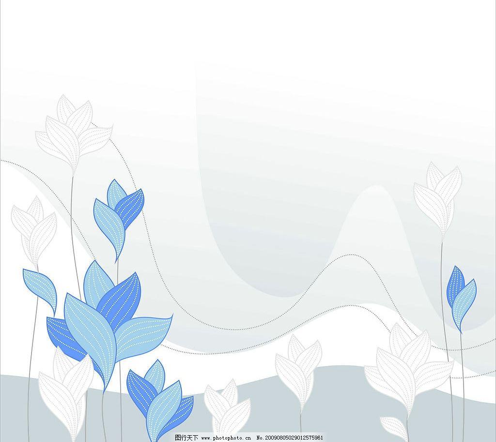 花纹线条 花纹 线条 书线 花 花朵 曲美 背景 环境设计 其他设计 设计