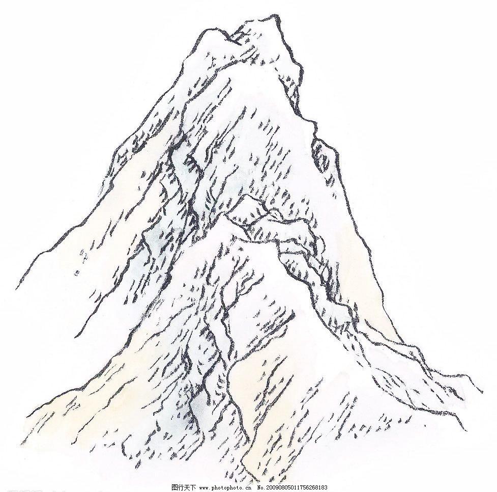 山水风景画图片下载