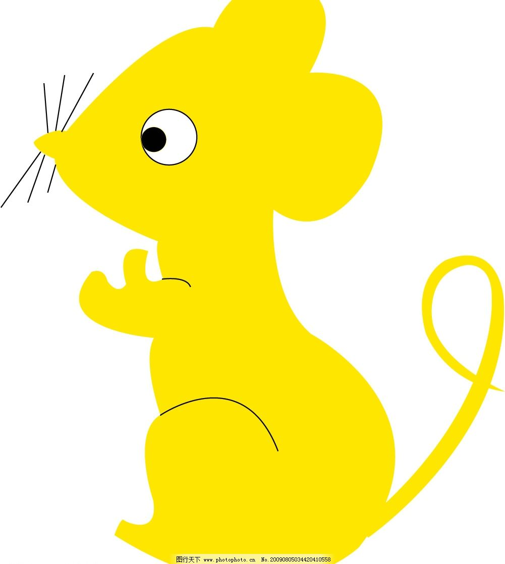 小金鼠 鼠 生肖 生物 可爱 卡通 cdr   生物世界 其他生物 矢量图库